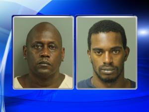 Barry Darnell Sills, left, and Cedano Lee Moore