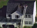 Fire crews battle blaze at Raleigh home