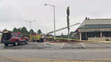 ITZ Entertainment, a restaurant, sports bar and nightclub at 4118 Legend Ave. caught fire Thursday afternoon, Fire Chief Benjamin Major said.
