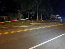 Two people were injured early Wednesday in a single-car wreck on Old Oxford Road in Durham, police said.