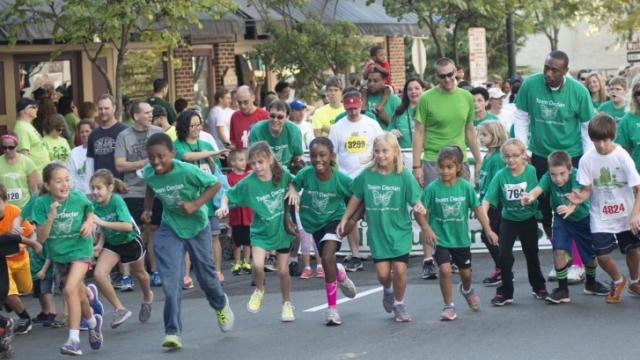 Nearly 4,000 participants showed their support for individuals with autism Saturday morning, raising more than $315,000 in the 6th annual Triangle Run/Walk for autism in downtown Raleigh.