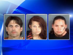 Three face meth charges in Fayetteville