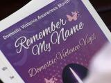 Fayetteville remembers victims of domestic violence