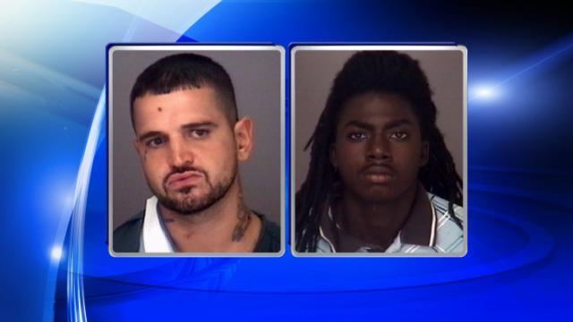 Brandon Carver Stephens, left, and Jamar Hawkins