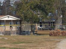 Authorities in Johnston County were searching early Tuesday for both a victim and suspect in a shooting reported late Monday in the Four Oaks community.