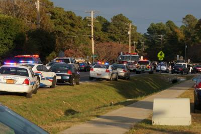 Fayetteville police are on the scene of a hostage situation on the 4700 block of Rose Hill Road.