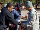 Food for Bragg soldiers