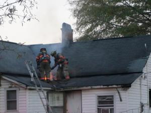 Durham house fire
