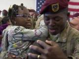 Fort Bragg troops return from Afghanistan