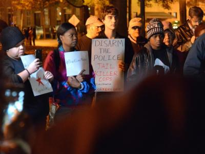 Moore Square Ferguson protest