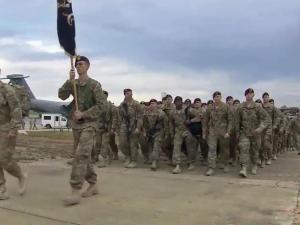 Bragg soldiers return