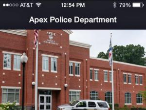 Apex Police Department releases mobile app
