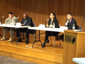 Fort Bragg holds a panel discussion Wednesday on ways to improve schools.