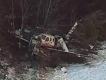 Aerial coverage of 2010 plane crash at Gaithersburg, Md.