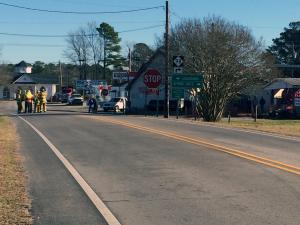 Parts of downtown Bunn evacuated after propane tank leak