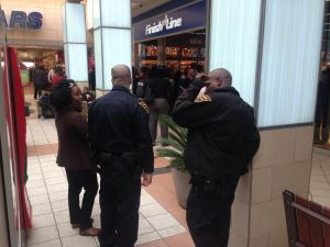 Fayetteville police at Cross Creek Mall