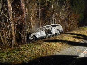 One person was killed Friday night in a single-vehicle crash in Moore County, authorities said.