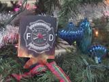 Cary Fire Department Christmas ornament