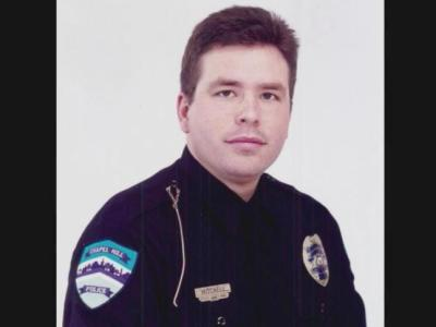 Chapel Hill police officer Tom Mitchell