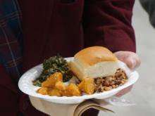 The annual Black Eyed Pea Lunch was held in Fayetteville Thursday, Jan. 1, 2015, at the Cumberland County Crown Expo Center.