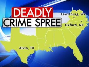 Multi-state crime spree
