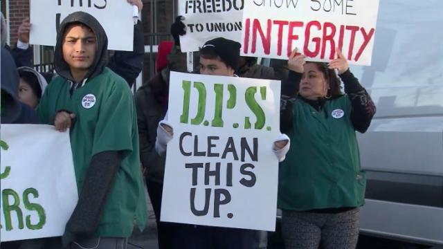 Durham school custodians demand $200K in back pay