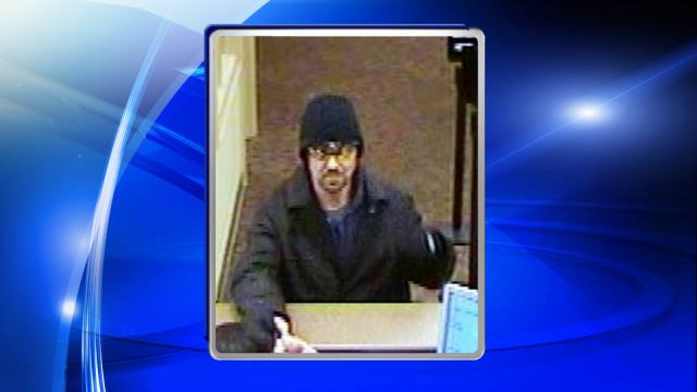 Police are searching for a man who robbed a BB&T branch in Durham on Jan. 13, 2015.