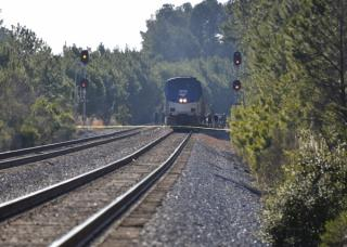 Two teenage boys, ages 17 and 18, were killed Thursday afternoon when they were hit by a northbound Amtrak train in Smithfield.