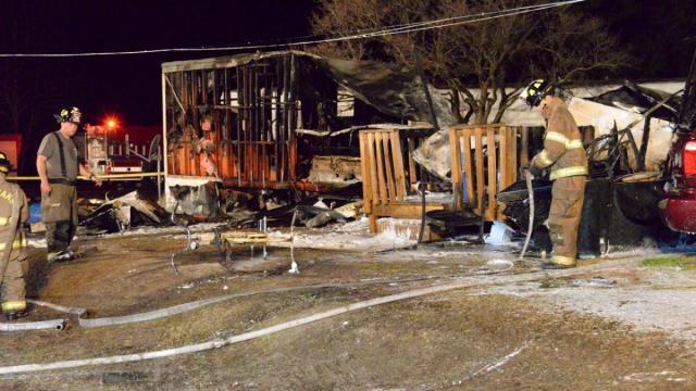 Johnston County fire