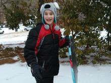 Joel Camplejohn was sledding outside his home when he was hit by a car on Feb. 17, 2015. (Courtesy of Chris Camplejohn)