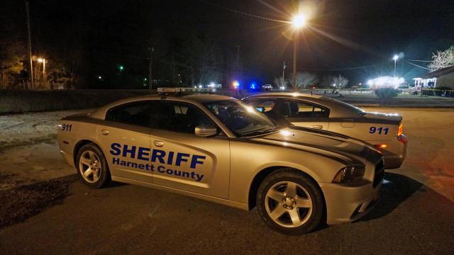 A man was killed early Tuesday in a shooting at a bar in Harnett County, authorities said.