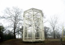 The Ghost Tower at Museum of the Cape Fear is the last remnant of the Fayetteville Arsenal. The Fayetteville Observer/Cindy Burnham