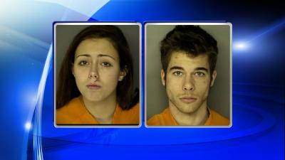 Grant Anthony Dollens, of Columbia, SC, and Roxanna Lisa Cumpan, of Pottsown, PA, are charged with accessory after the fact in connection with the shooting deaths of a Durham couple in Myrtle Beach.