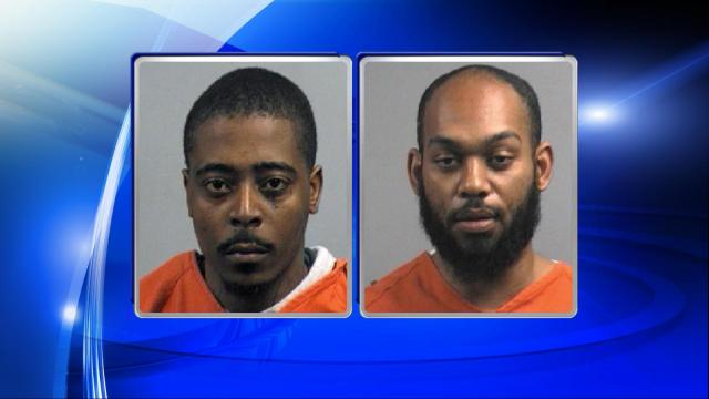 Marquize Marcel Harris and Phillip Alexander Williams are accused of robbing a Goldsboro bank.