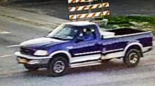 Edward Schwab was seen leaving the area in a blue and white 1998 Ford F-150 pickup with New York registration 11979ME.