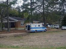 A man was killed early Friday when fire broke out in a home on Piney-Grove Rawls Road in Fuquay-Varina, according to the Harnett County Sheriff's Office.