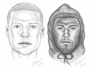 The Morrisville Police Department is seeking assistance with the identity of the two individuals shown in the sketches as a part of an on-going investigation.