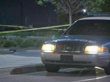 Police were investigating the shooting of a pregnant woman late Saturday near Triangle Town Center. The woman later died, but her baby survived.