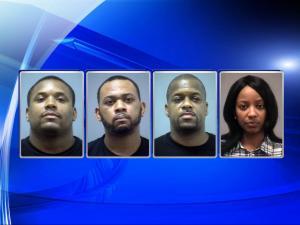 Antonio Tillman, Lann Clanton, Alphonso Ponton, Crystal Pierce, Northampton drug sting