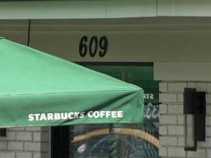 Starbucks on Peace Street