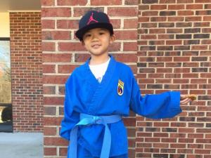 Paul Pham Dang, a third grader at Mill Park Elementary School, was hit by a vehicle that was turning from Maynard Road onto Maple Avenue on May 5, 2015.