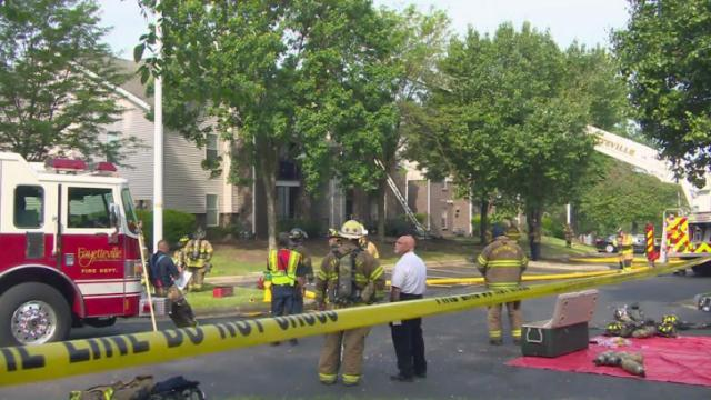 Fire crews responded Tuesday morning to a fire at the Chason Ridge Apartment Complex in Fayetteville, authorities said.