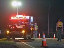 A child riding a bicycle was hit by a vehicle on Forestville Road at Autumn Forest Trail Tuesday night.