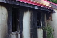 A 47-year-old man was killed early Wednesday when fire broke out in a home in the 800 block of West Oak Street in Selma, authorities said.
