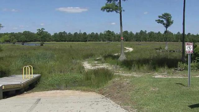 What was once a thriving Cumberland County lake filled with water and marine life is now an empty eyesore for nearby residents.
