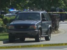 SUV driver targeted in Apex package explosion