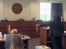 Tracey Cline disciplinary hearing (part 3)