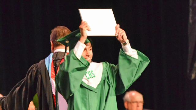 Cary High School Graduation 2015 (Photo By: Beth Jewell)