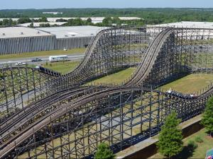 Carowinds announced in May that Thunder Road, a behemoth roller coaster that required more than half a million feet of treated lumber to construct, will shut down on July 26 to make room for newer park attractions.
