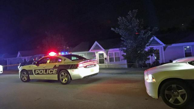 A man was killed late Thursday in a shooting on Atlantic Street in south Durham, police said.
